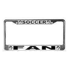 World Cup Soccer Fan License Plate Frame