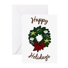 Police Wreath Greeting Cards (Pk of 10)