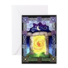 Celtic Doorway Greeting Card