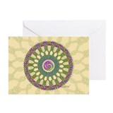 Celtic Spring Mandala Greeting Cards (Pk of 20)
