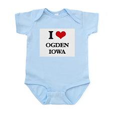 I love Ogden Iowa Body Suit