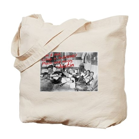 Awesome College Opium Tote Bag