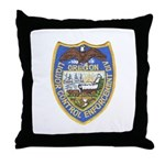 Oregon Liquor Control Throw Pillow