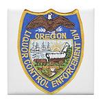 Oregon Liquor Control Tile Coaster