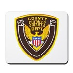 County Sheriff's Dept. Mousepad