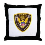 County Sheriff's Dept. Throw Pillow