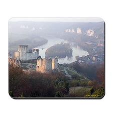 Chateau Gaillard Les Andelys Mousepad | Mouse Pad