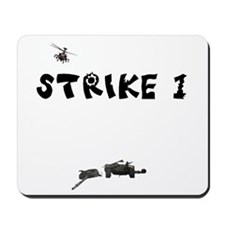 ARMY HUMOR APACHE HELICOPTER TANK KILL MOUSEPAD