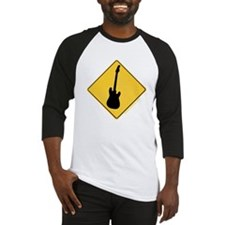 Crossing Zone Electric Guitar Baseball Jersey
