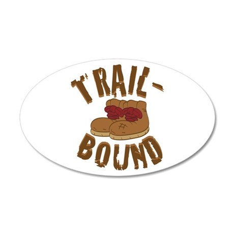 Trail Bound Wall Decal