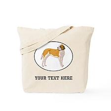 Custom Saint Bernard Tote Bag