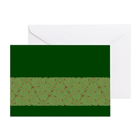 Arboreal Triangle Knot Greeting Card