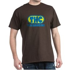 THC - Blue/Yellow logo T-Shirt