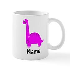 Pink Dinosaur (p) Mugs