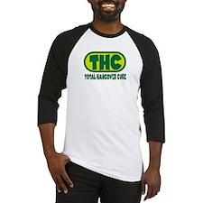 THC - Green logo Baseball Jersey