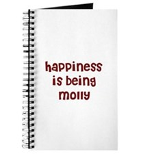 happiness is being Molly Journal