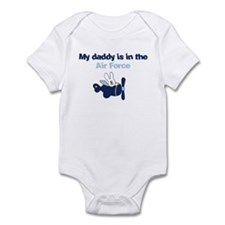 My daddy is in the Air Force Infant Bodysuit