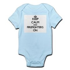 Keep Calm and Firefighters ON Body Suit