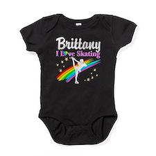 SKATING PRINCESS Baby Bodysuit