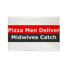 Midwives Catch Rectangle Magnet