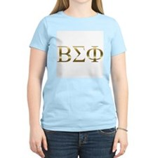 Personalized Beta Sigma Phi Women's Pink T-Shirt