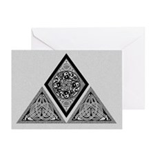 Celtic Pyramid Greeting Card