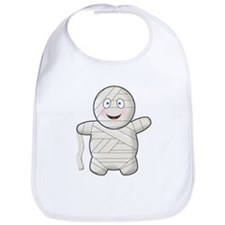 Cute Halloween Mummy Bib