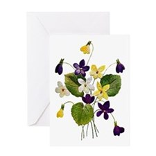 VIOLETS Greeting Card