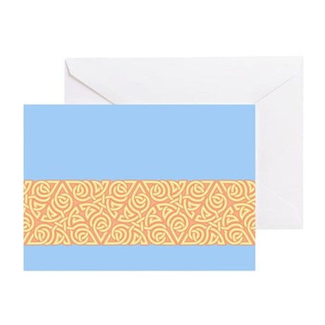 Sunny Triangle Knot Greeting Cards (Pk of 20)