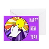 Jewish New Year of Peace Greeting Card