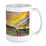 Sunset On The Prairie Mug
