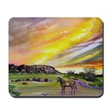 Sunset On The Prairie Mousepad