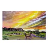 Sunset On The Prairie Postcards (Package of 8)
