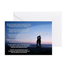 """Forever"" Greeting Card"