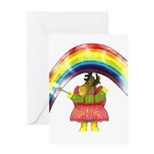 Fairy Moose Mother Greeting Card