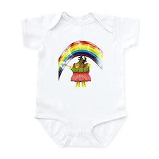 Fairy Moose Mother Infant Bodysuit