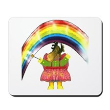 Fairy Moose Mother Mousepad