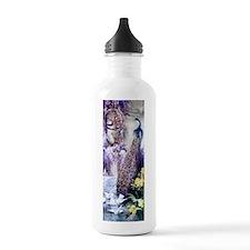Om Garden Peacock, Dov Sports Water Bottle