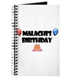Malachi's Birthday Journal