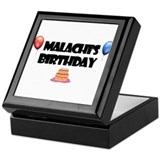 Malachi's Birthday Keepsake Box