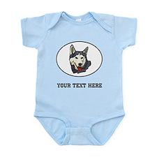 Custom Siberian Husky Body Suit