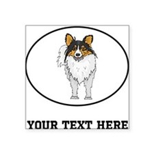 Custom Shetland Sheepdog Sticker