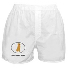 Custom Golden Retriever Boxer Shorts