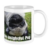 The Insightful Pug Small Mugs