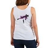 my brother carries a big gun  Women's Tank Top