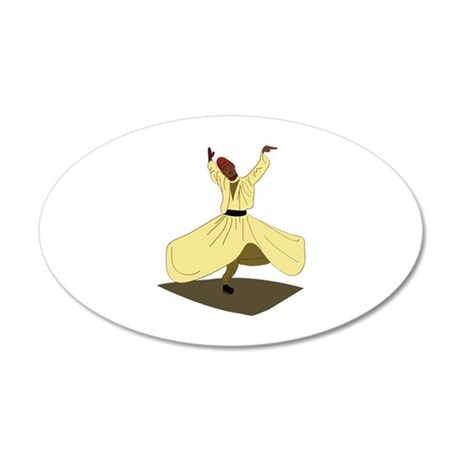 Whirling Dervish Wall Decal