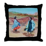 Native Dance Throw Pillow