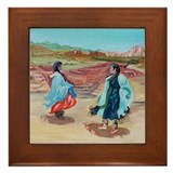 Native Dance Framed Tile