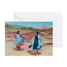Native Dance Greeting Card
