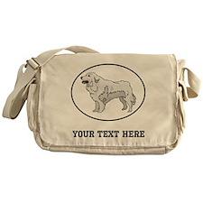 Custom Great Pyrenees Messenger Bag